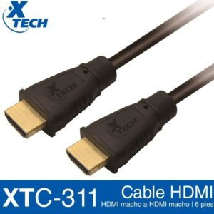 Cable Hdmi Macho A Hdmi Macho Xtech 1.8mtrs Xtc-311