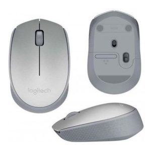 Mouse Logitech M170 Silver Optico Inalambrico Usb Pc Mac Chr