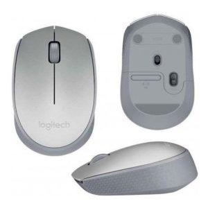 Mouse Logitech M170 Silver Optico Inalambrico Usb Pc Mac Chr