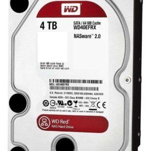 Hdd Interno Wd Red 3.5 4tb Sata3 6gb/s 64mb P/nas 1-8 Bahias