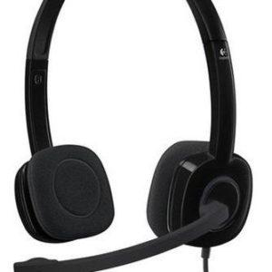 Audífonos Estéreo Con Micrófono Logitech H151.