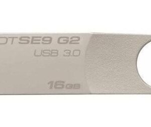 Memoria Kingston 16gb Usb 3.0 Datatraveler Se9 G2 Plata