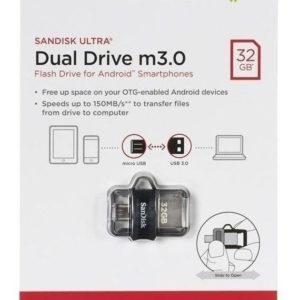 Memoria Sandisk 32gb Usb 3.0 Micro Usb Ultra Dual Drive Otg