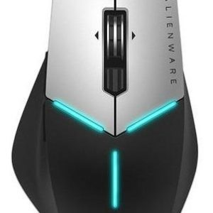 Mouse Óptico Gamer Dell Aw558, 5000 Dpi, Usb. Color Gris.