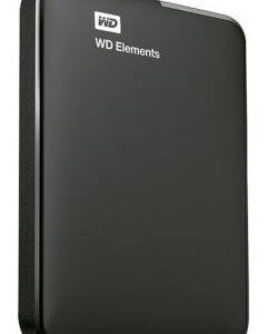 Hdd Externo Portatil 2tb Wd Elements Negro 2.5 Usb3.0 Win