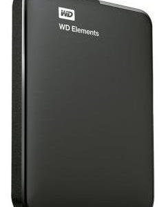 Hdd Externo Portatil 2tb Wd Elements Negro 2.5 Usb3.0 Win