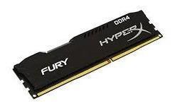 Memoria Kingston Hyperx Fury Black Ddr4, 2400mhz, 8gb,cl15