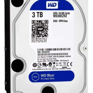 Disco Duro Interno 3tb Western Digital 3.5 5400rpm Wd30ez /v