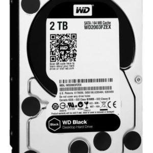 Wd2003fzex Black 3.5 2tb Sata3 6gb/s 64mb Gamer