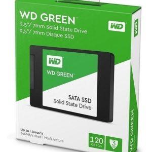 Sd Wd Green 2.5 120gb Sata3 6gb/s 7mm Wds120g2g0a