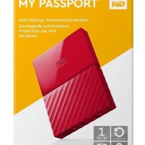 Dd Externo Portatil 1tb Wd Rojo 2.5/usb3.0 Win