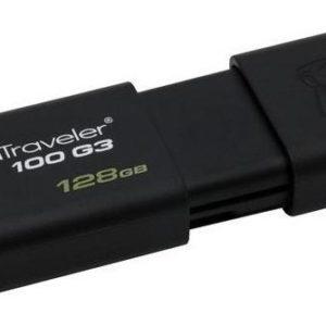 Memoria Kingston 128gb Usb 3.0 Datatraveler 100 G3 Win Mac