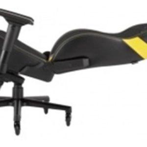 Silla Gaming Corsair T2 Road Warrior Cuero Pu Negro Con Amar