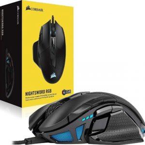Mouse Gaming Corsair Nightsword Rgb 18000 Dpi
