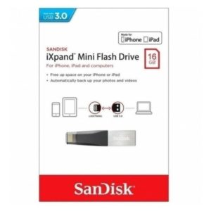 Memoria Sandisk 16gb Ixpand Mini Para iPhone iPad Lightning