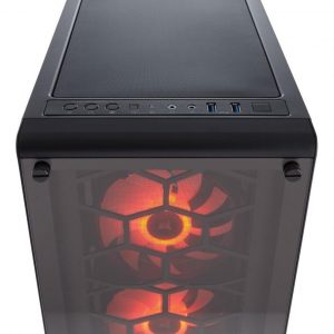 Case Corsair Crystal Series 460x Rgb Compact, Atx, Mi