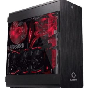 Case Gamer Gamemax Gaming Full Tower Case Raider X, Aluminio