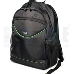 Mochila Para Laptop 15.6 Negro Delgada Klip Xtreme Knb-050