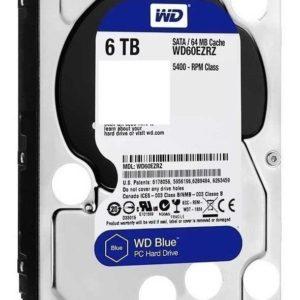 Dd Interno Wd Blue 3.5 6tb Sata3 6gb/s 64mb 5400rpm P/pc Com