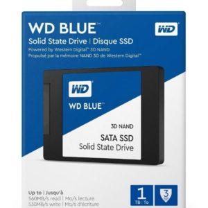 Ssd Wd Blue 2.5 1tb Sata 3dnand Wds100t2b0a 7mm