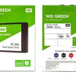 Unidad De Estado Solido Ssd Wd Green 2.5 240gb Wds240g2g0a