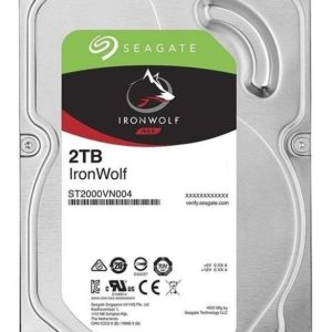 Hdd Interno Seagate Ironwolf 3.5 2tb Sata3 5900rpm 64mb Dvr