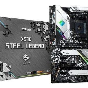 Tarjeta Madre Asrock X570 Steel Legend Am4 – 128gb Ddr4
