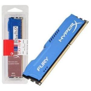 Memoria Hyperx Fury Ddr3 8gb/1600 ( Hx316c10f/8 ) Azul
