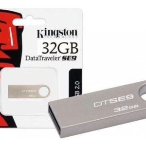 Memoria Kingston 32gb Usb 2.0 Metalica Plata Win Mac Lin