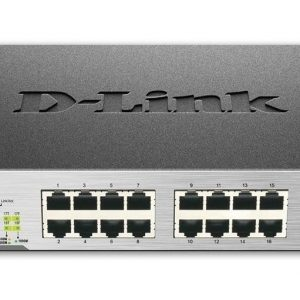 Switch D-link Des-1018mp, 16-10/100mbps, 2-10/100/1000base-t