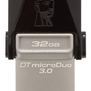 Microduo Kingston 32gb Memoria 3.0 Usb Otg Smartphone Tablet