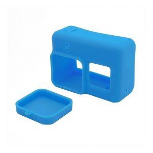 Funda Case Silicona Gopro Hero 6 / 5 Azul