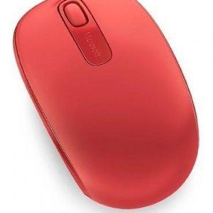 Mouse Microsoft Mobile 1850 Inalambrico Rojo