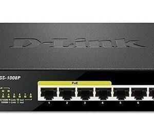 Switch D-link Dgs-1100-08  Poe 8 Puertos Gigabit 1000 Mbps