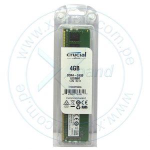 Memoria Crucial Ct4g4dfs824a, 4 Gb, Ddr4, Ddr4, 2400 Mhz, Ud