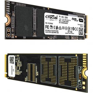 Ssd M.2 2280 Crucial P1 500gb Pcie 3.0 X4