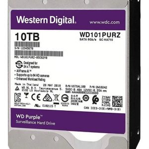 Hdd 3.5 Wd Purple 10tb 7200rpm 256mb Sata 3.0 – 6gb/s