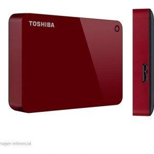 Disco Duro Externo Toshiba Canvio Advance Hdtc940xr3ca 4tb