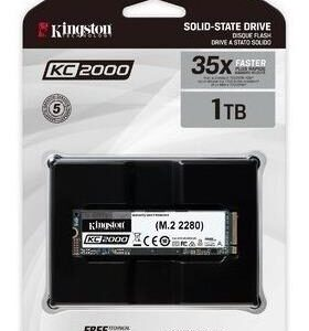 Ssd Interno Kingston Kc2000 1tb De 256 Bits Skc2000m8 /v