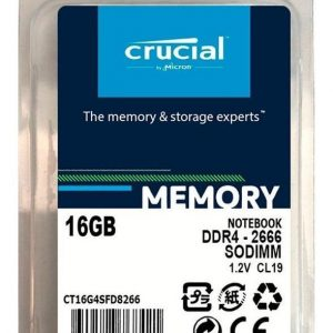 Memoria Ram Sodimm Crucial 16gb Ddr4 2666