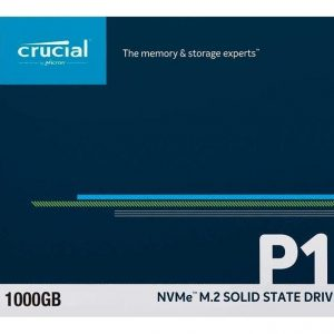 Ssd M.2 2280 Crucial P1 1tb Pcie 3.0 X4