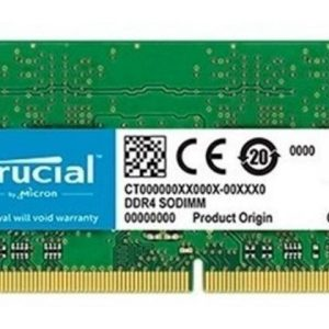 Memoria Sodimm Crucial Ct4g4sfs8266 4gb Ddr4 2666 Mhz Cl19