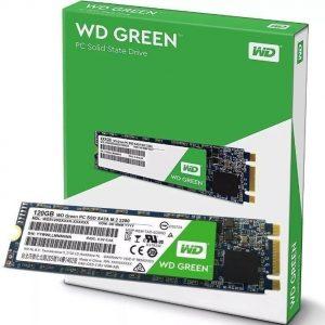 Ssd Wd Green M.2 120gb Sata3 Wds120g2g0b