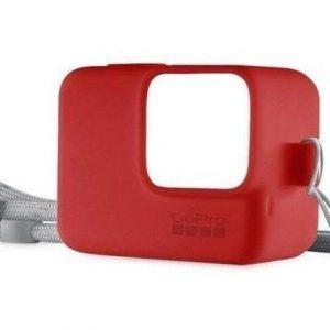Funda Case Silicona Gopro Hero 6 / 5 Rojo