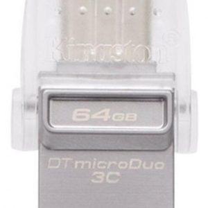 Memoria Usb Kingston Datatraveler 64gb Microduo 3c
