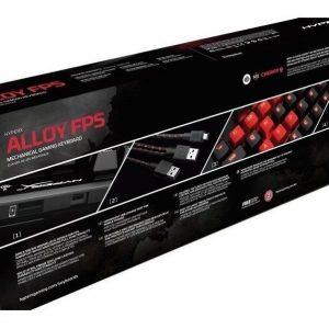 Teclado Gamer Hyperx Alloy Fps Mecánico Cherry Mx  Led Rojo