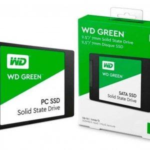 Ssd Wd Green 2.5 480gb Sata3 6gb/s 7mm Wds480g2g0a