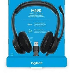 Audífono Logitech H390 Micro Cancelación De Ruido Usb