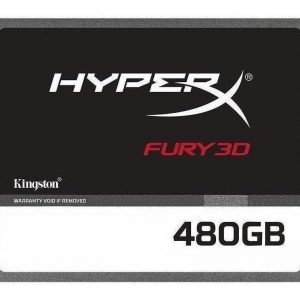 Disco Solido Interno Ssd Hyper X Fury 3d 2.5  480 Gb