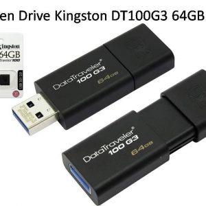 Memoria Kingston 64gb Usb 3.0 Datatraveler 100 G3 Dt100g3/64